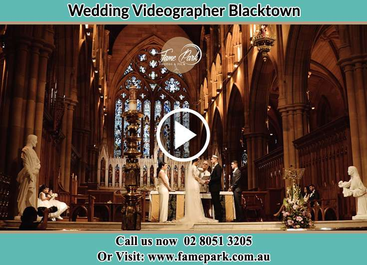 Bride and Groom at the altar Blacktown NSW 2148