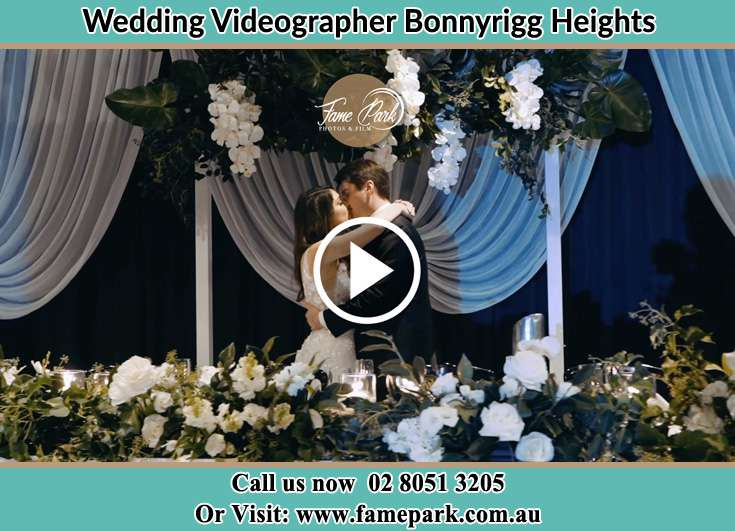 Bride and Groom kissed at the receptionBonnyrigg Heights NSW 2177