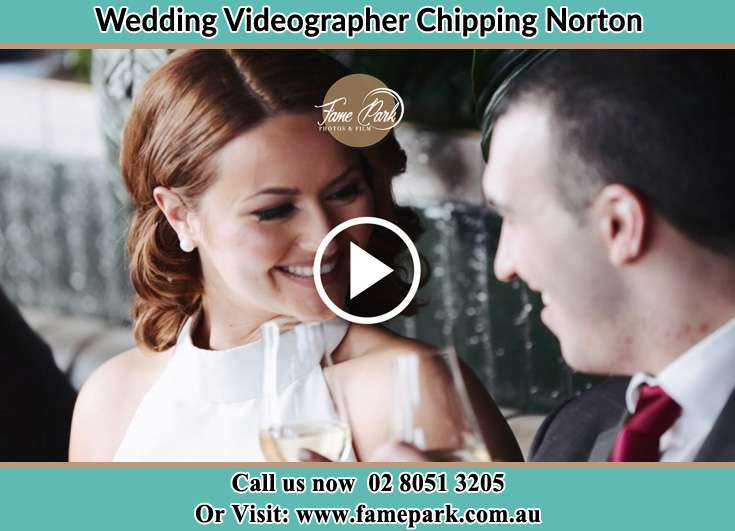 Bride and Groom looking at each other while making a toast Chipping Norton NSW 2170