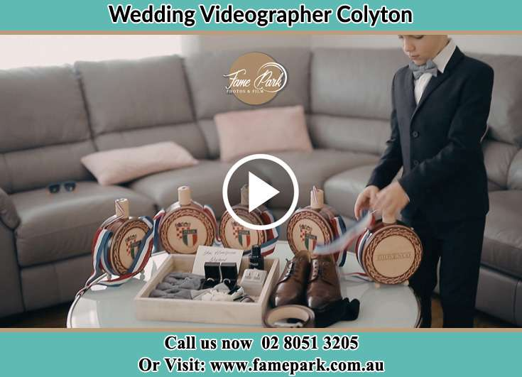 Groom wedding accessories Colyton NSW 2760