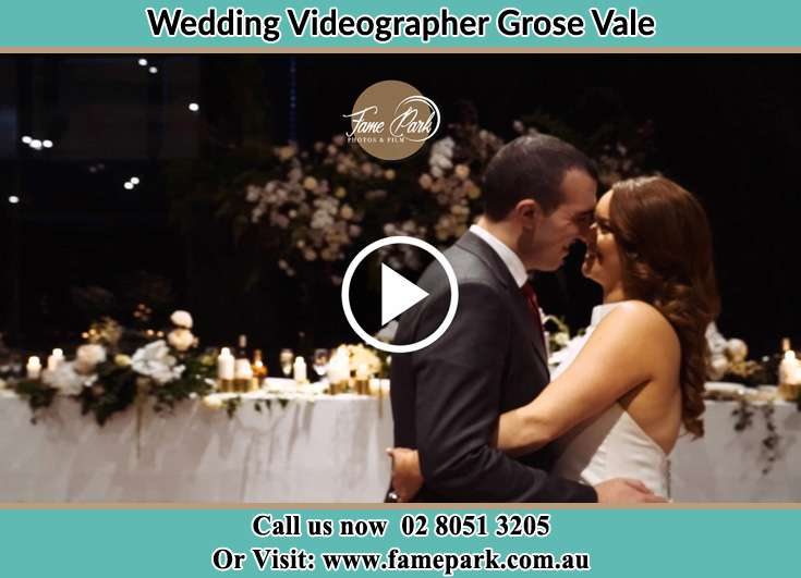 Bride and Groom looking at each other at the reception Grose Vale NSW 2753
