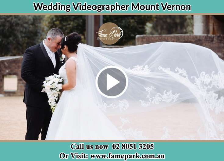 The Groom and the Bride close to each other Mount Vernon NSW 2178