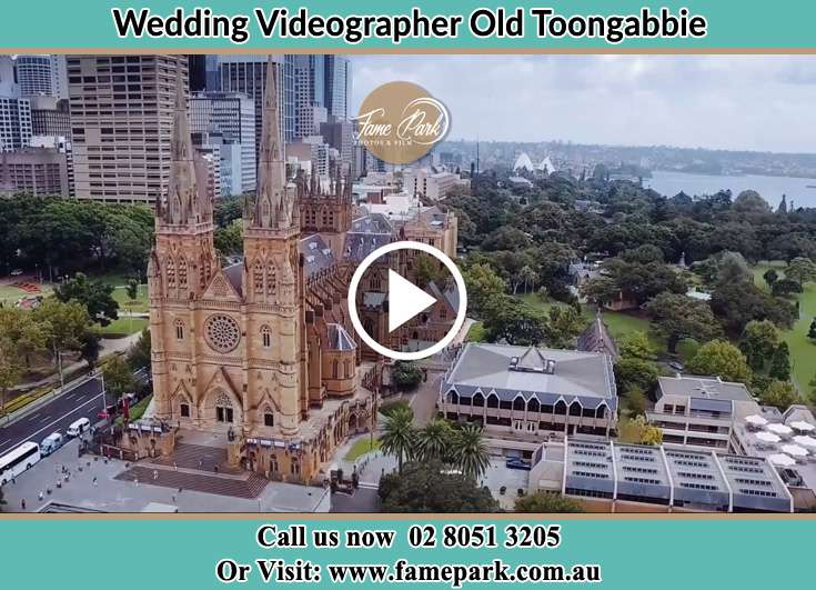 Aerial view of the wedding venue Old Toongabbie 2146