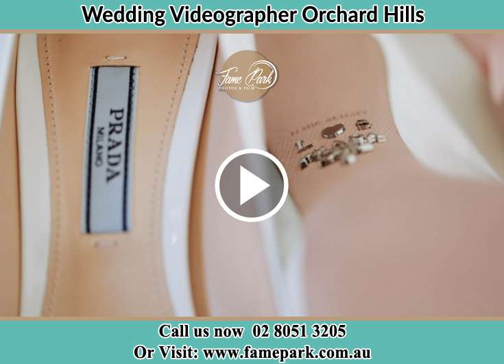 The wedding shoes Orchard Hills NSW 2748