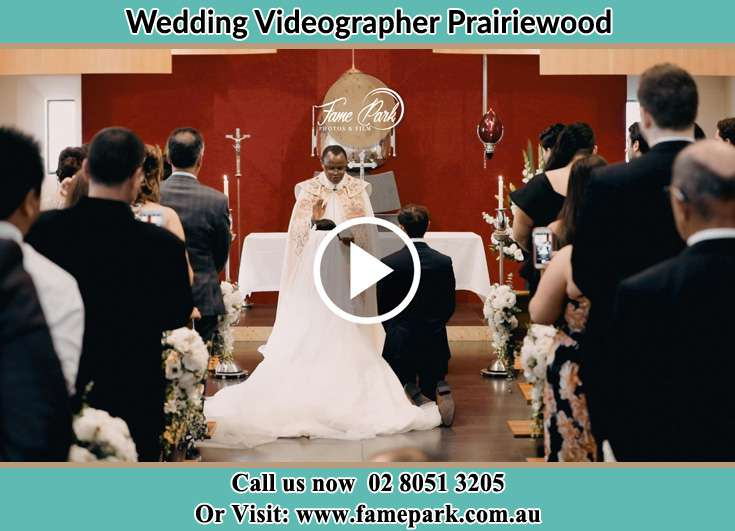 During the wedding ceremony Prairiewood NSW 2176