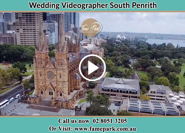 Aerial view of the wedding venue South Penrith NSW 2750