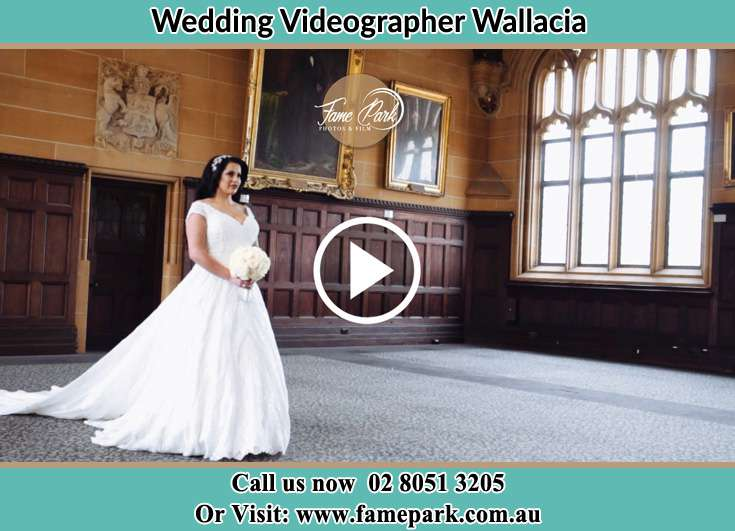 The Bride walking in the hall Wallacia NSW 2745