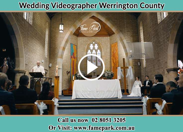 During a wedding ceremony Werrington County NSW 2747