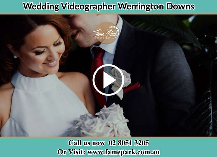 The Groom whisphers something to his Bride Werrington Downs NSW 2747