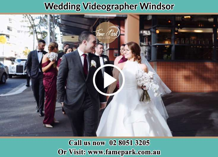 The new couple walking on the street Windsor NSW 2756